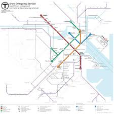 Mbta System Map by Mbta Schedule Update Which Boston Subway U0026 Bus Lines Are Running