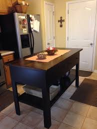 primitive kitchen island made to order by a local small business