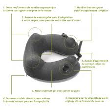 Coussin Pour Bien Dormir Jerrybox Oreiller De Voyage Coussin Voyage Gonflable Compact