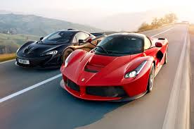 Hybrid Is The New Fast Ferrari Laferrari Vs Mclaren P1