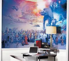 geek out over the star wars saga wall mural geek decor