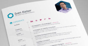 Best Designed Resumes 25 Effective Design Portfolio Websites Vandelay Design