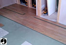 laying a wooden floor on floor intended for how to install