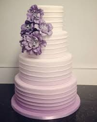 wedding cake lavender lavender ombre cake for wedding deer pearl flowers