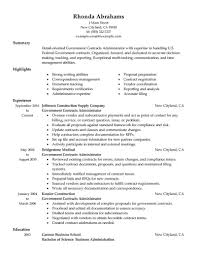 Federal Government Resume Examples examples of resumes student and internship resume free acting