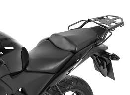 honda cbr 125cc hepco and becker black rear topbox rack for honda cbr125 650964 01