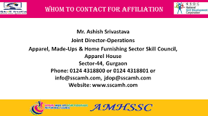 apparel made ups u0026 home furnishing sector skill council national