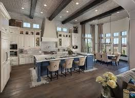 kitchen cool open concept country kitchen layouts plan design