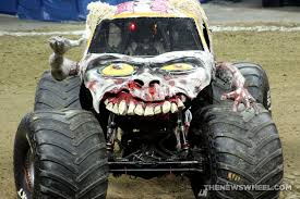 zombie brain spotlight monster jam u0027s popular truck