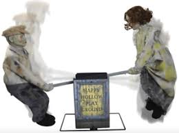 motion activated halloween decorations professional talking doll