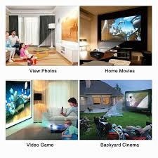 projector video projector hd 3200 lumens portable led amazon co