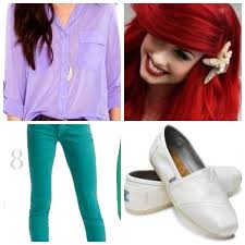 Halloween Costumes Red Hair 25 Ariel Halloween Costume Ideas Mermaid