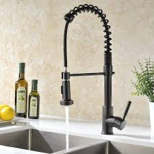 delta oil rubbed bronze kitchen faucet decoration commercial style kitchen faucet polished nickel pull