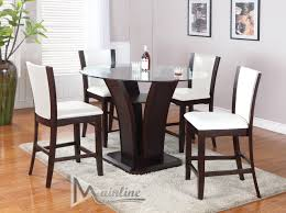 triangle high top table counter height dining table rectangular image on marvelous square