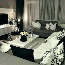white and gray living room black white and silver living room eventsbygoldman com