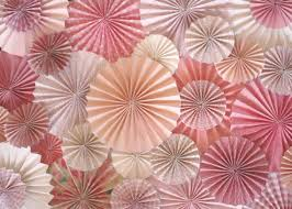 paper fan backdrop pink paper fan backdrop set of 15 fans pink paper and backdrops