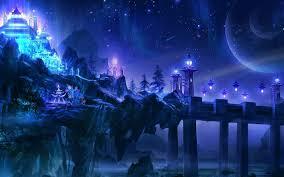 fantasy landscape castle wallpapers hd i hd images