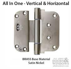 Adjustable Hinges For Exterior Doors 4 Inch Door Hinge Adjustable Door Hinge All About Doors
