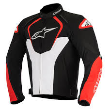red motorcycle jacket alpinestars textile motorcycle jackets