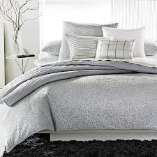 Bloomingdales Bedroom Furniture by Calvin Klein Home Studio Collection Mykonos Bedding Pewter