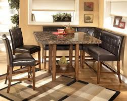 Kitchen Table Sets With Bench Seating Kitchen Corner Bench Seating With Storage Corner Dining Bench