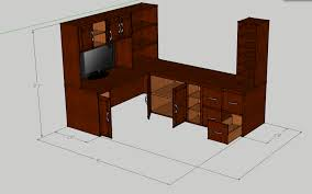 Free Corner Desk Woodworking Plans by Nice L Shaped Computer Table Design Furniture Incredible Modern