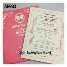 Invitation Card Ratu Invitation Card Wedding Invitations In Jakarta Bridestory Com