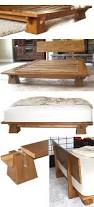 Solid Wood Platform Bed Plans by Best 25 Wood Bed Frames Ideas On Pinterest Bed Frames Wood