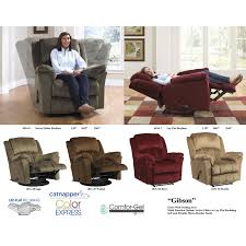furniture interesting cuddler recliner with option colors for