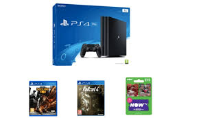 black friday deals for ps4 ps4 pro deal for uk with two free games and now tv product