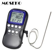 sonde de cuisine numérique bbq thermomètre alimentaire viande de sonde de cuisine
