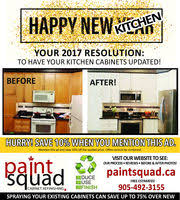 Kitchen Cabinets Durham Region Paint Squad In Oshawa On 905 492 3155 Shopping Home Furnishings
