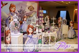 sofia the birthday ideas sofia the themed party ideas in pakistan