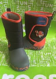 crocs light up boots boys crocs crocband lodgepoint dinosaur roborex light up boots