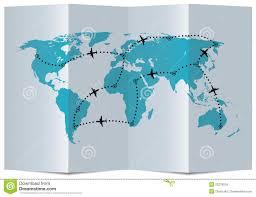Flight Path Map Vector Map Airplane Flight Paths 23276518 Jpg 1300 997 Travel