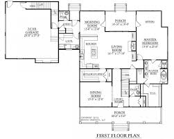 ranch house plan simple square house plans house map sq foot simple house square