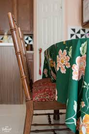 How To Reupholster Dining Chair How To Fix A Sagging Dining Chair Seat The Gathered Home