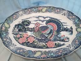 ceramic turkey platter 68 best turkey platters images on turkey platter