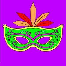 masks masquerade coloring pages hellokids