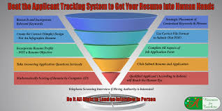 Resume Applicant Applicant Tracking Systems Screen Education Candidates Using Keywords