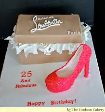 couture pink pump with shoebox the hudson cakery