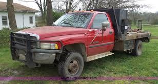 1998 dodge ram 3500 1998 dodge ram 3500 flatbed truck item k7982 sold