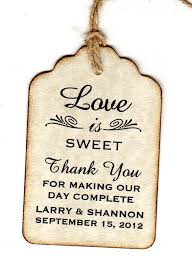 wedding tags 61 best wedding thank you tags images on thank you