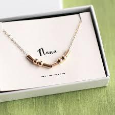 morse code necklace personalized nana morse code necklace nana necklace morse code necklace