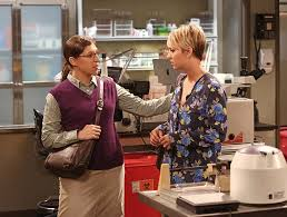 the back of penneys new haircut kaley cuoco s short hair joked about on the big bang theory beauty