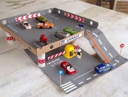 Wooden Toy Garage Plans Free by Best 25 Toy Garage Ideas On Pinterest Outdoor Toys Auto Garage