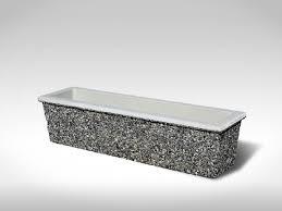 Concrete Rectangular Planter by Rectangular Sanderson Concrete Inc
