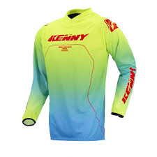 kenny motocross gear performance 2017 cross shirt lemon