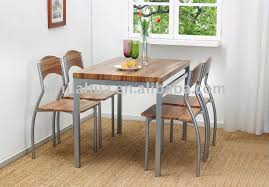 steel dining table set the best stainless steel dining tables room set ss for chair styles