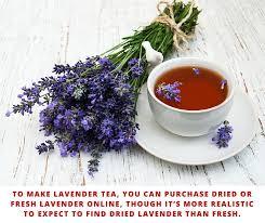 lavender tea cup of lavender tea it s got 8 benefits